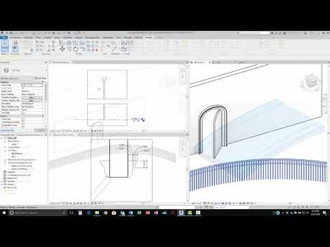 Revit 2019 Dimensions for Curved Objects Demonstration