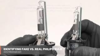 Как отличить оригинальную ксеноновую лампу Philips от подделки