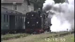 preview picture of video 'Radeburg  (Germania)  - Lößnitzgrundbahn (mm. 750)'