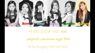 Apink(에이핑크)-Luv (Colour Coded Hangul/Rom/Eng Lyrics)
