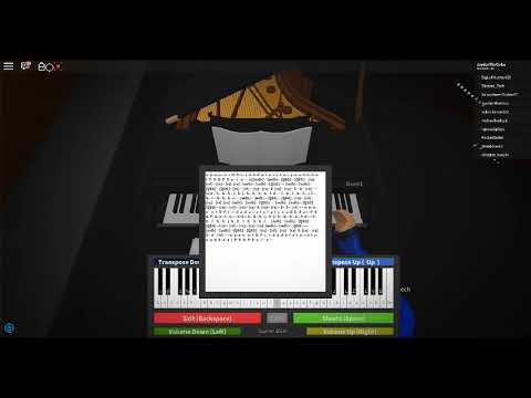 Roblox piano sheets spooky scary skeletons - Vídeo ROBLOX
