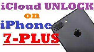 Permanent iCloud unlock on iPhone 7 Plus | Activation lock remove on iPhone 7 plus| 2018