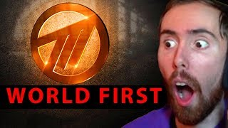 Asmongold Reacts To How Method Went -100m In Debt And Won Worlds First