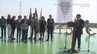 preview picture of video 'Inauguración rotonda 4ª fase Polígono de Totana (Moyca)'