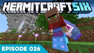 Hermitcraft VI 026 | GRIAN THE TROLL.. 😠 | A Minecraft Let