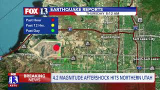 U of U seismologist, Jamie Farrell, discusses Thursday morning's 4.2 aftershock.