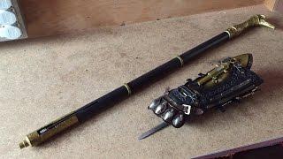 Ubi Workshop Cane Sword & Gauntlet unboxing (Assassin