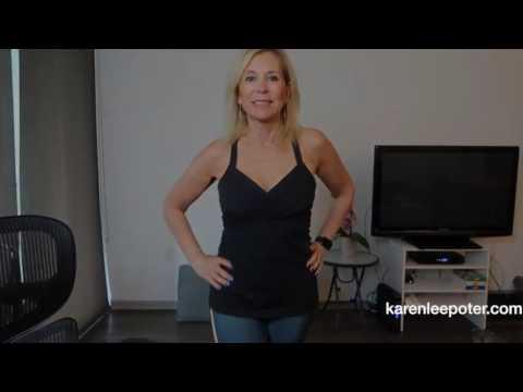 Modeling Yoga Pants