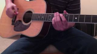 Dave Matthews Two Step Guitar Lesson: Rhythm Tutorial