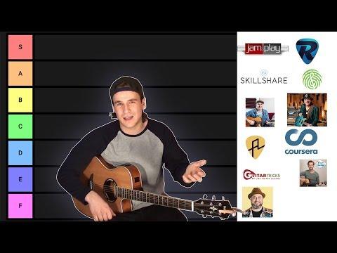 Online Guitar Teacher Tier List