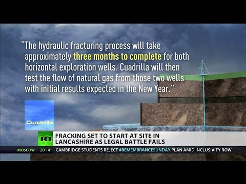 Fracking set to start at site in Lancashire as legal battle fails
