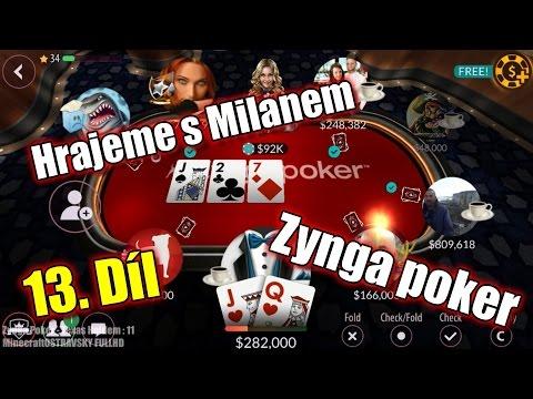 #13 | Zynga Poker - Texas Holdem | _KKND_ zase hrajeme 3.část stolu| [HD]