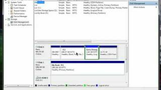 Join Two Partitions Back Together in Windows