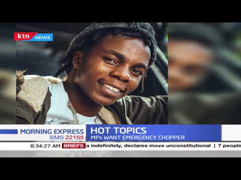 Hot Topics | Gengetone artists rate card, Former TPF contestant on the streets, Chao in Uganda