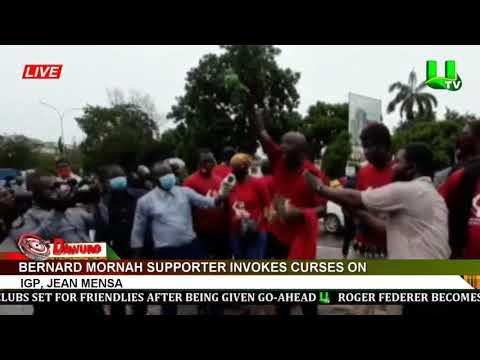 Bernard Mornah supporter invokes curses on IGP, Jean Mensa