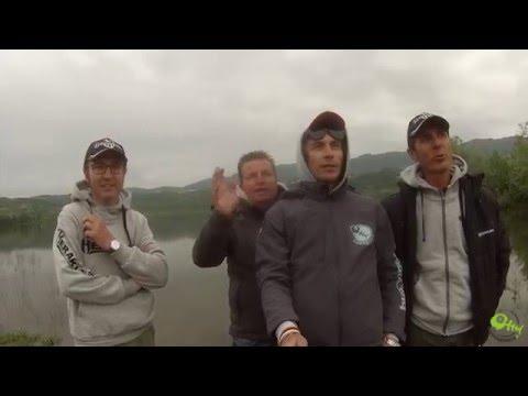 La pesca sul lago smolino video