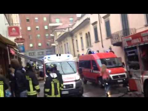 Nuovo allarme in via Carrobbio