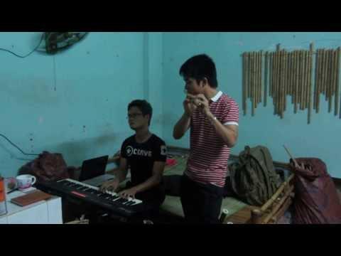 Tiếng đàn ta lư /piano- sáo trúc cực hay