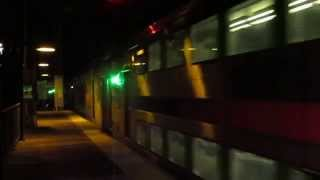 preview picture of video 'Amtrak-NJT-SEPTA Trenton night action'
