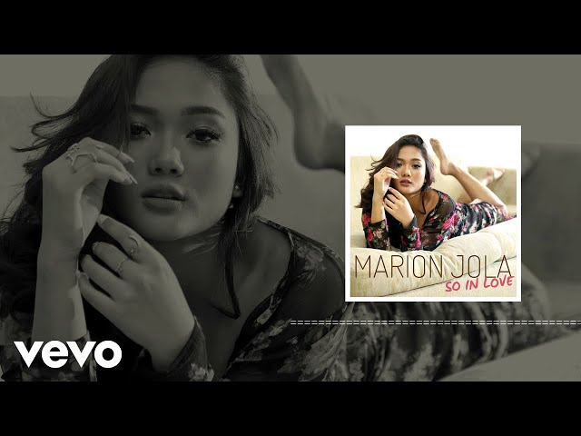 Marion Jola - So In Love (Audio)