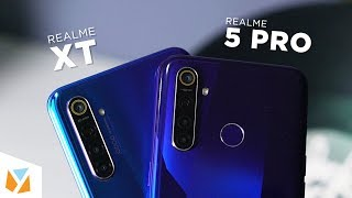 Realme XT vs Realme 5 Pro Comparison Review