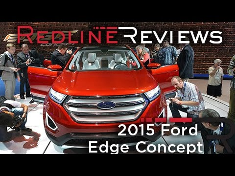 2015 Ford Edge Concept - 2013 Los Angeles Auto Show
