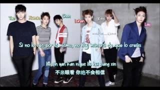 EXO-M - Machine [ Sub Español /PinYin/Chinese] (Color Coded)