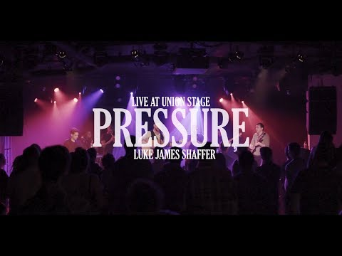 From Luke James Shaffer's show at Union Stage in DC