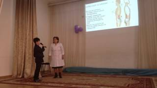 Vertebra -Dr. İradə onurğa mərkəzinin kollektivi 238 saylı məktəbdə