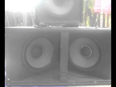 RCF bass test / Mahesh Dj / InfiniTube