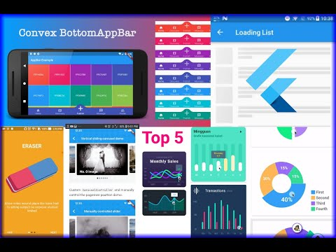 Top 5 Flutter Packages for Beautiful UI Development in 2021