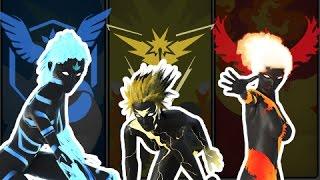 Articuno  - (Pokémon) - EPIC Pokemon Fight Animation - Project Legendary - Moltres Zapdos Articuno FIGHT