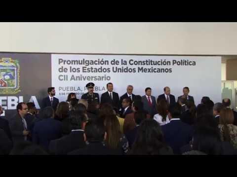 Fernando Manzanilla Prieto - Ceremonia Conmemorativa al CII Aniversario de la Constitución