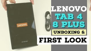 Lenovo Tab 4 8 Plus Unboxing & First Look - dooclip.me