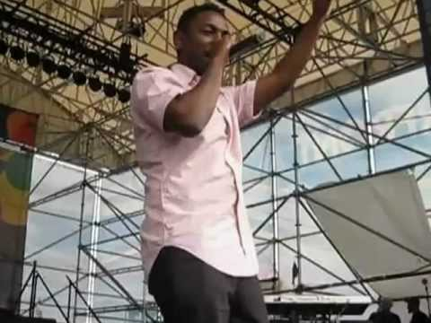 Kendrick Lamar & DjCurlyLocks Performing A.D.H.D Live  at Philly's Global Fusion Festival 2012