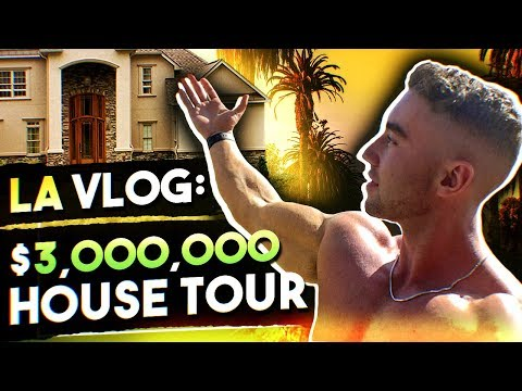 I MADE IT TO LA    Training at Golds, Haircut and a House Tour   LA VLOG