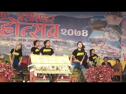 2nd Besisahar Mahotsab 2074   Tripy Tripy Dance    B2D Dance Studio   दोस्रो बेसीशहर महोत्सव २०७४
