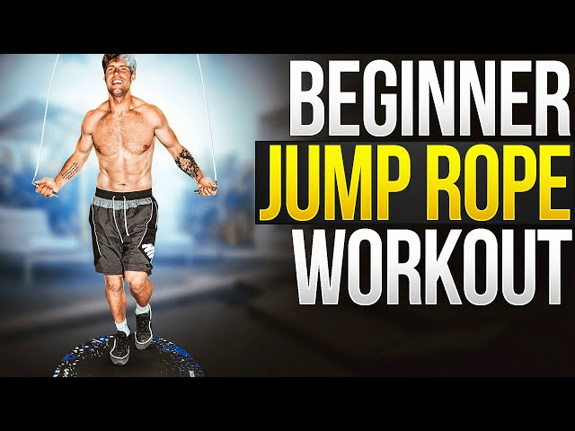 Beginner At Home Jump Rope Workout