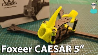 "Foxeer 5"" CAESAR Racing Frame - Overview & Giveaway"