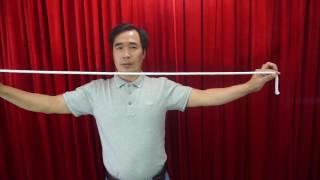 Hướng dẫn ảo thuật dây xuyên cổ và cắt dây rồi nối liền lại