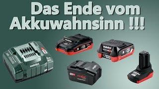 Ein Akkusystem für alle Maschinen und Marken - Der Wahnsinn !!!!