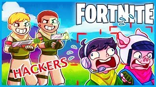 2 AIMBOT HACKERS Get *BANNED* Mid Game in Fortnite: Battle Royale! (Fortnite Funny Cheater Moments)