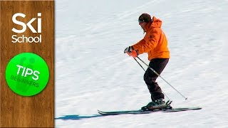Ski school lesson 5 – Basic skiing stance