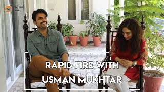 RAPID FIRE WITH USMAN MUKHTAR | RANKING PAKISTANI ACTORS & ACTRESSES | Altamash | Anaa | Orange Wall