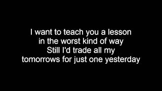Fall Out Boy - Just One Yesterday Lyrics