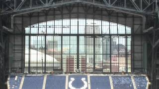 Lucas Oil Stadium: Sneak Peak Tour