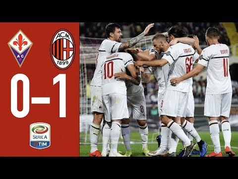 Highlights Fiorentina 0-1 AC Milan - Matchday 36 Serie A TIM 2018/19