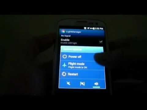 Light Manager - LED Settings video