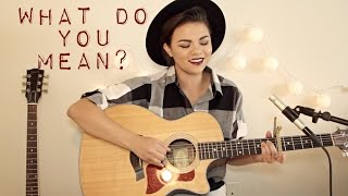 What Do You Mean? - Justin Bieber Cover
