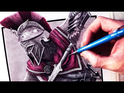Let's Draw ASSASSIN'S CREED ODYSSEY - FAN ART FRIDAY